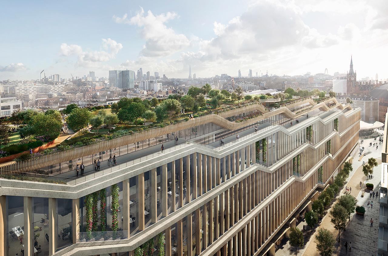 The new HQ will have a huge green roof