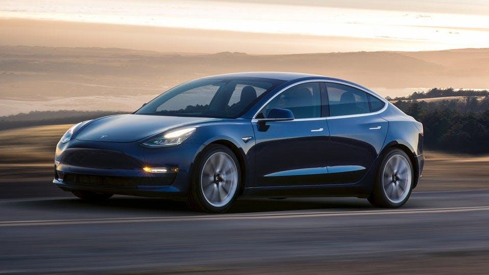 Tesla is set to see how its first mass market sedan fares on the roads of Europe