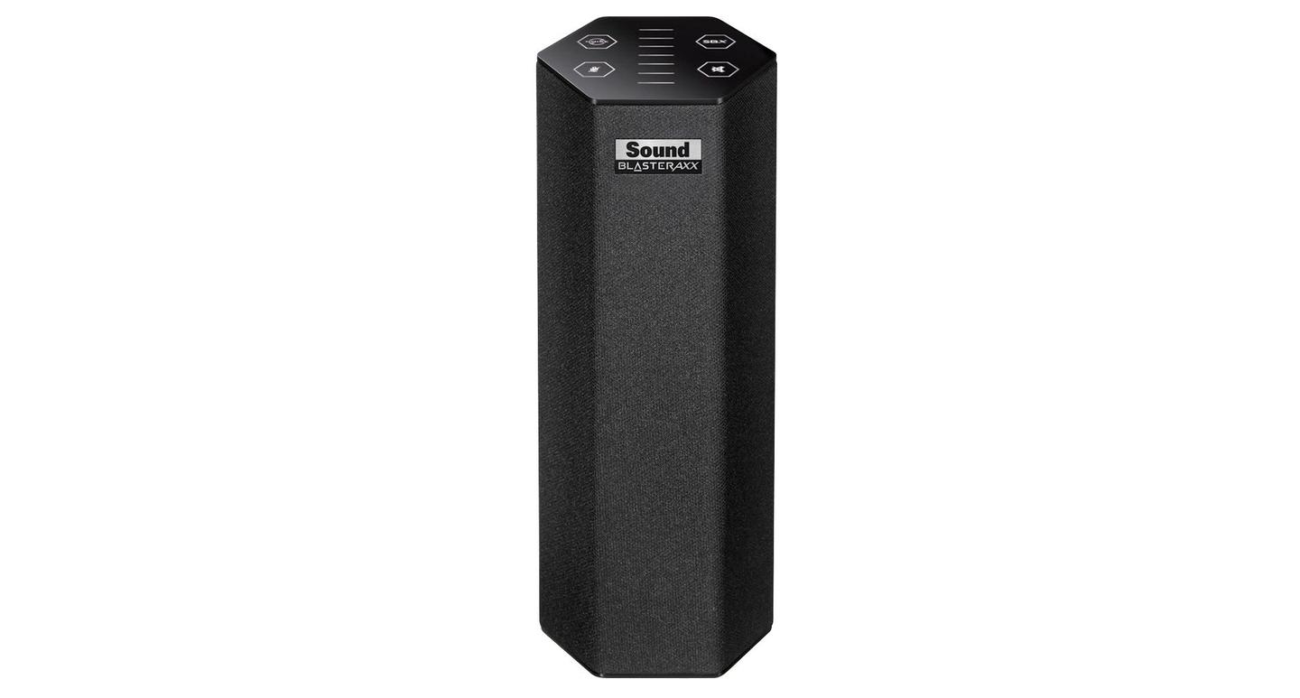 The baby of the new family is the SBX 8, which is the only one of the three speaker solutions not to be wireless-enabled