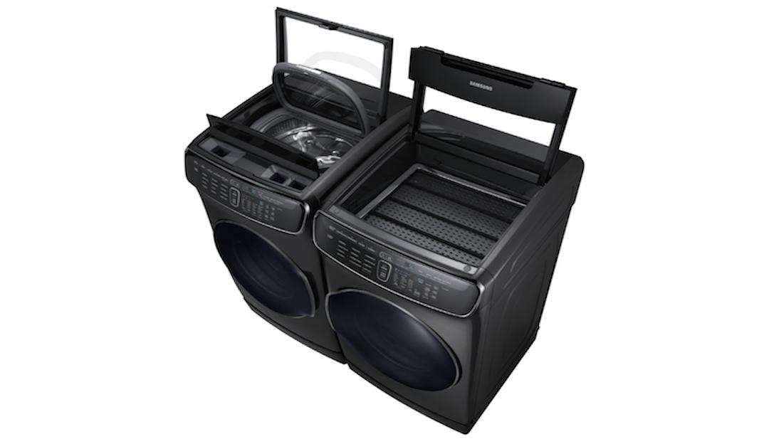 The Samsung FlexWash + FlexDry is a 4-in-1 washer-dryer