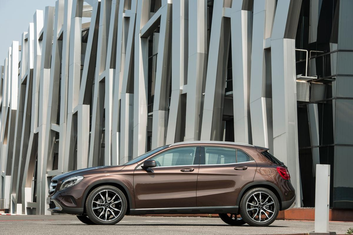 The Mercedes GLA-Class becomes the brand's smallest crossover