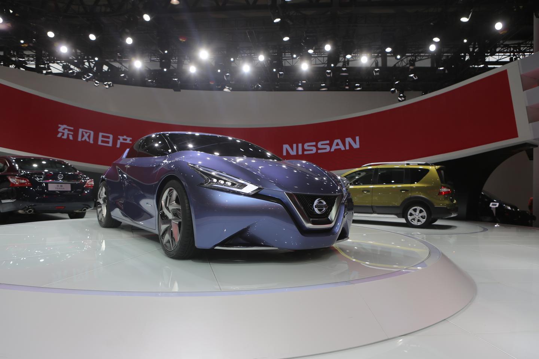 Nissan Friend-ME concept at the 2013 Shanghai Auto Show (Photo: Gizmag)