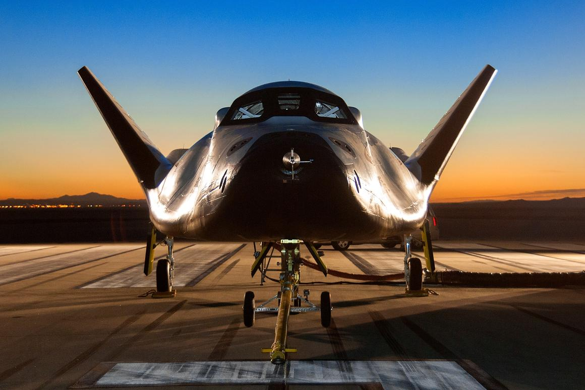 Sierra Nevada Corporation (SNC) has carried out the first gliding approach and landing test of its Dream Chaser spacecraft (Photo: SNC)