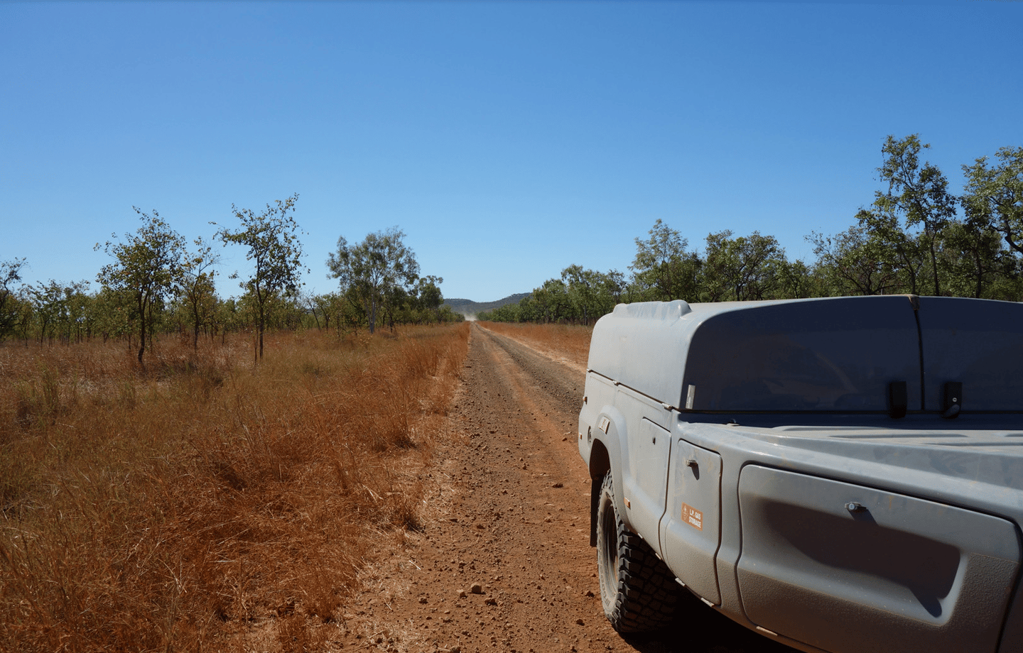 Kerfton has been testing its trailer on corrugated dirt roads and rougher 4x4 tracks