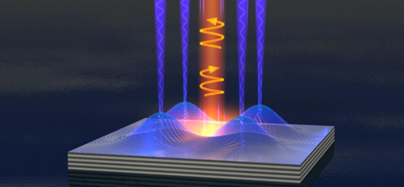 "Using a Polariton Bose-Einstein condensate form of ""liquid light"", researchers have created a nanoscale switch that could help vastly improve the speed and efficiency of future electronic components"