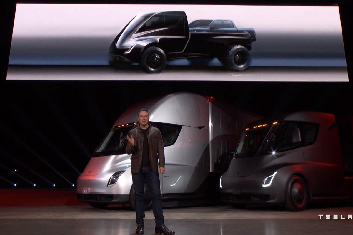 Elon Musk first revealed the Pickup Truck at the launch of the Semi and Roadster in November, 2017