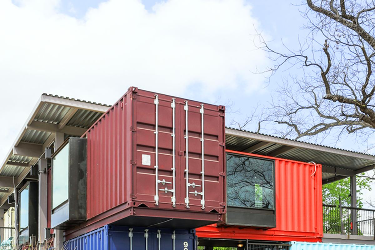 The Container Bar is based in Austin, Texas (Photo: Chris Perez)