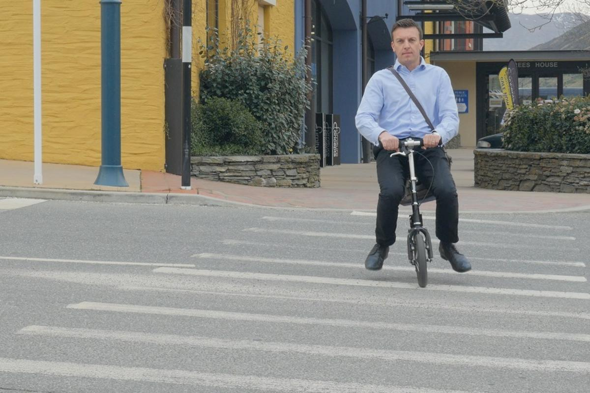 A new way to glide around the city