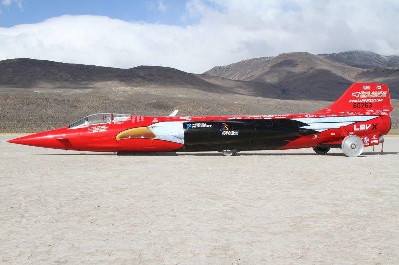 The North American Eagle land speed racer