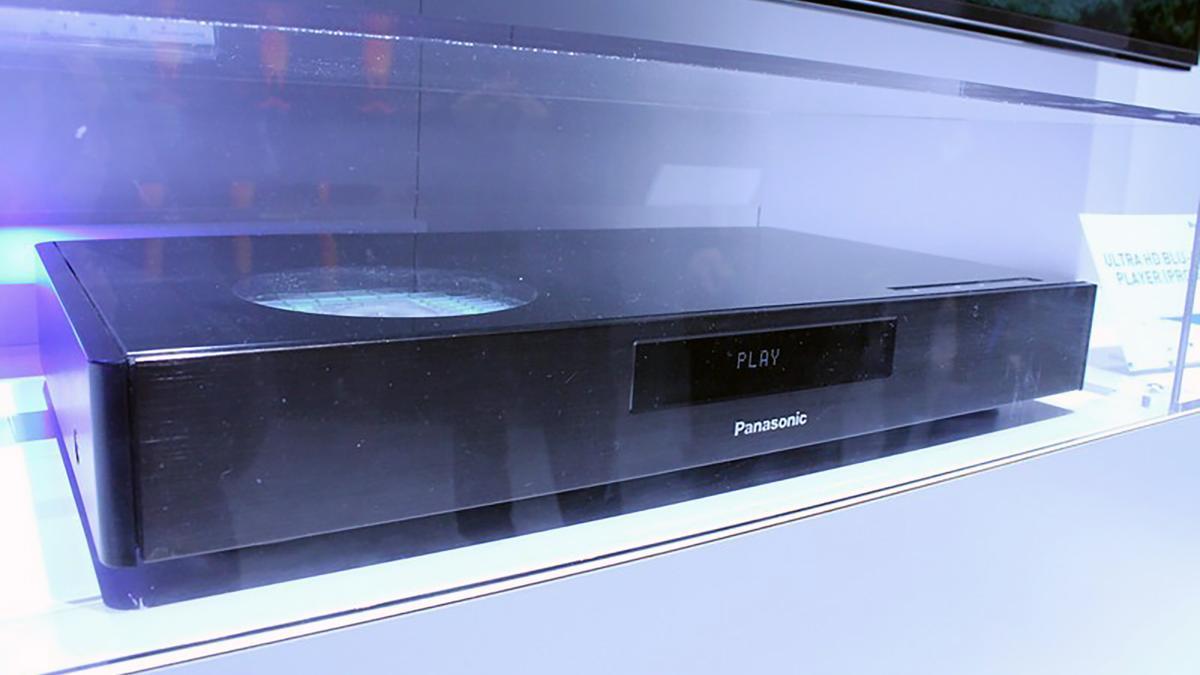 Panasonic's new Blu-Ray player prototype includes High Dynamic Range support (Photo: Eric Mack/Gizmag)