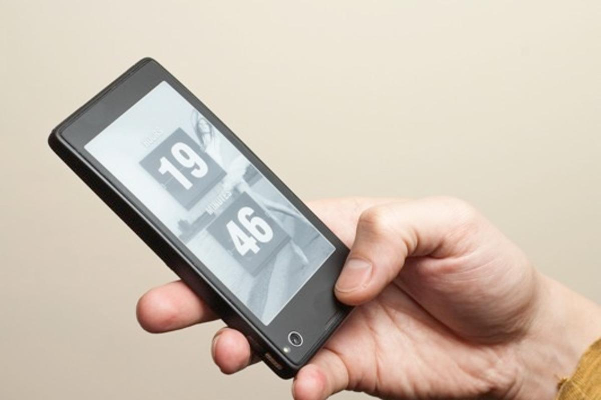 Yota's first mobile phone will feature a second E-Ink display on the rear of the device