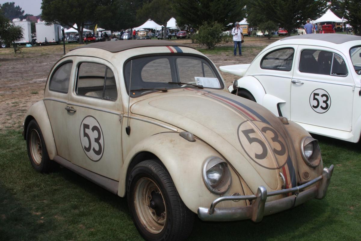 "Mecum Lot 138 was the ""hero car"" used for the close up shots of the rundown Herbie in the film, and when it sold for $93,500, it became the fourth most valuable Volkswagen Beetle in history"