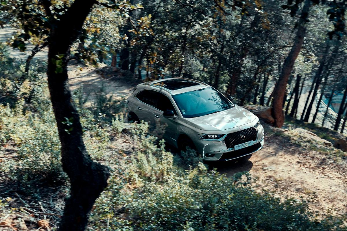 The DS7 Crossback E-Tense 4x4 is the luxury automaker's plug-in hybrid variant for its DS7 SUV