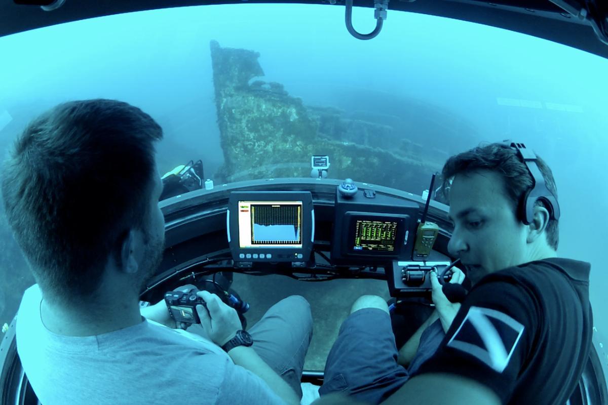 Gizmag comes over all submarinal (Image: U-Boat Worx/Gizmag)