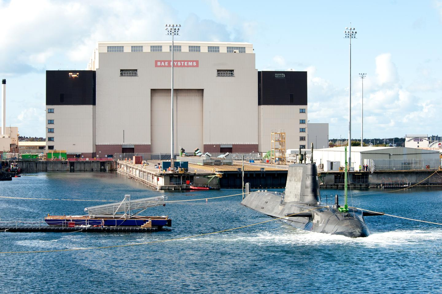 Artful completed her maiden dive at Barrow in Furness (Image: BAe Systems)