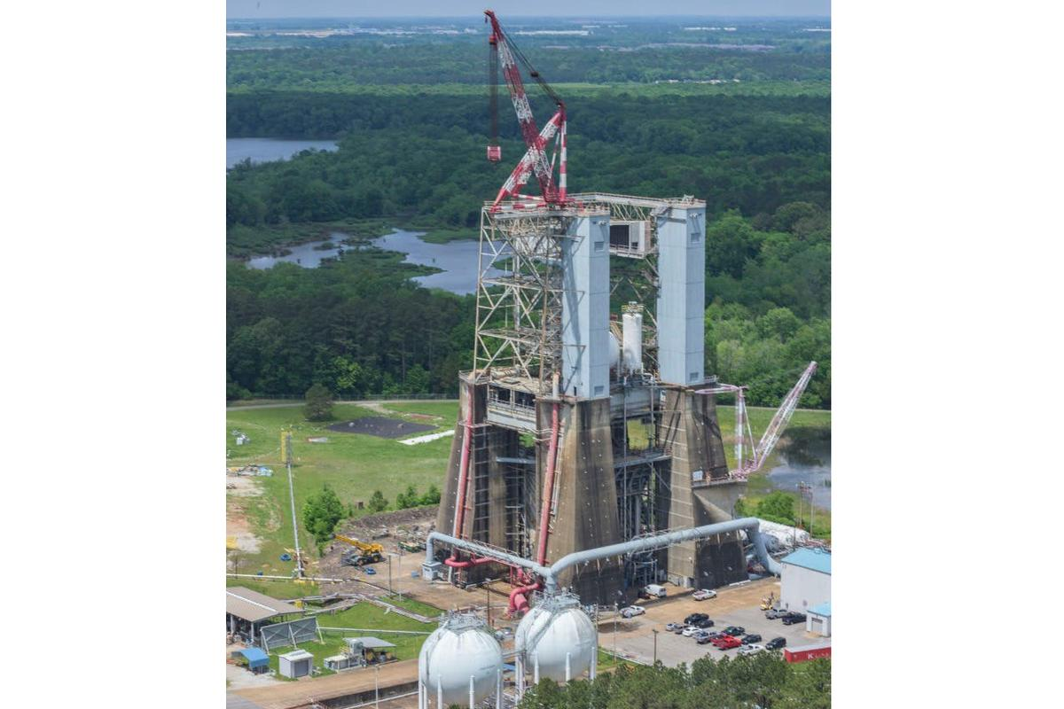 Blue Origin will upgrade and refurbish Test Stand 4670at NASA's Marshall Space Flight Center in Huntsville, Alabamato support testing of their BE-3U and BE-4 rocket engines