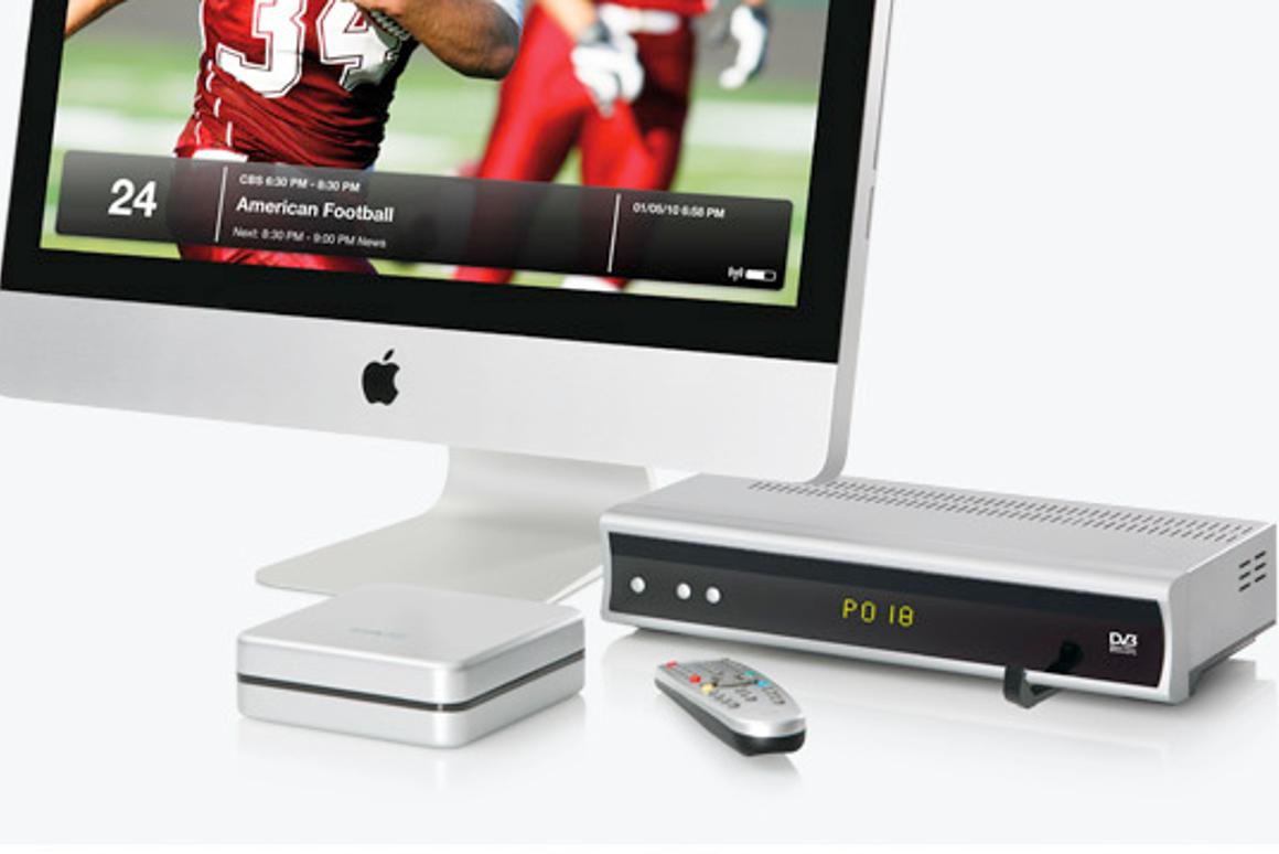The Elgato EyeTV HD is a PVR for your Mac that also lets your stream content to your iPad or iPhone
