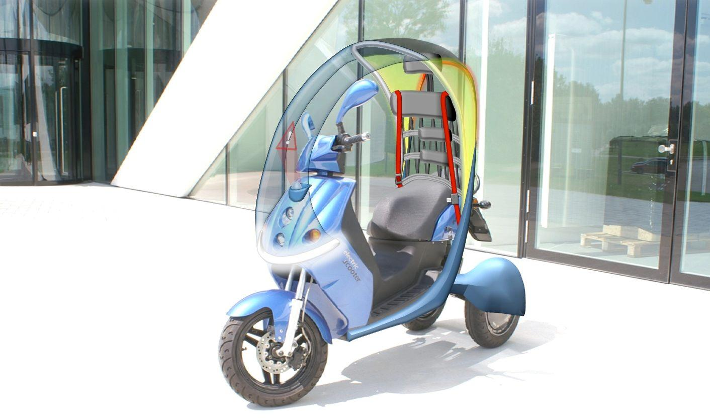 A possible future version of Fraunhofer's scooter