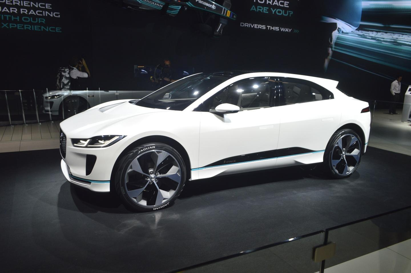 The Jaguar I-Pace eTrophy series will be using modified versions of the I-Pace electric crossover, set to debut in 2018
