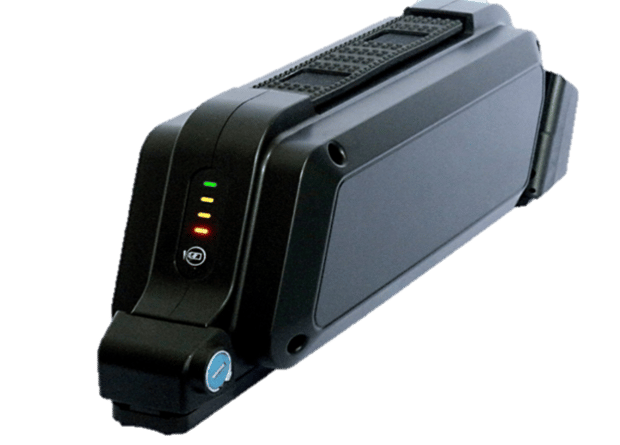 Bikee offers several sizes of battery pack