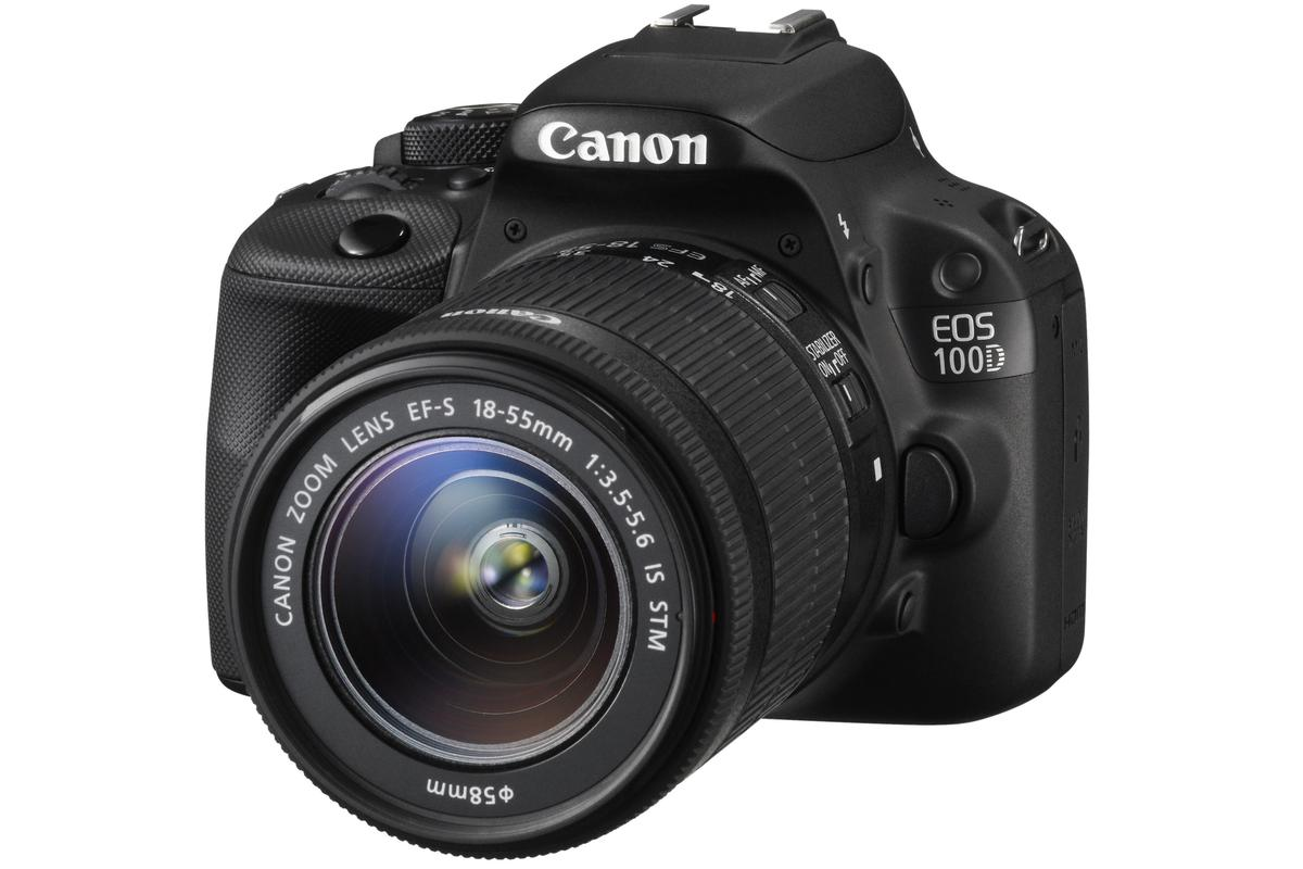 The Canon EOS 100D (Rebel SL1) is the world's smallest APS-C DSLR