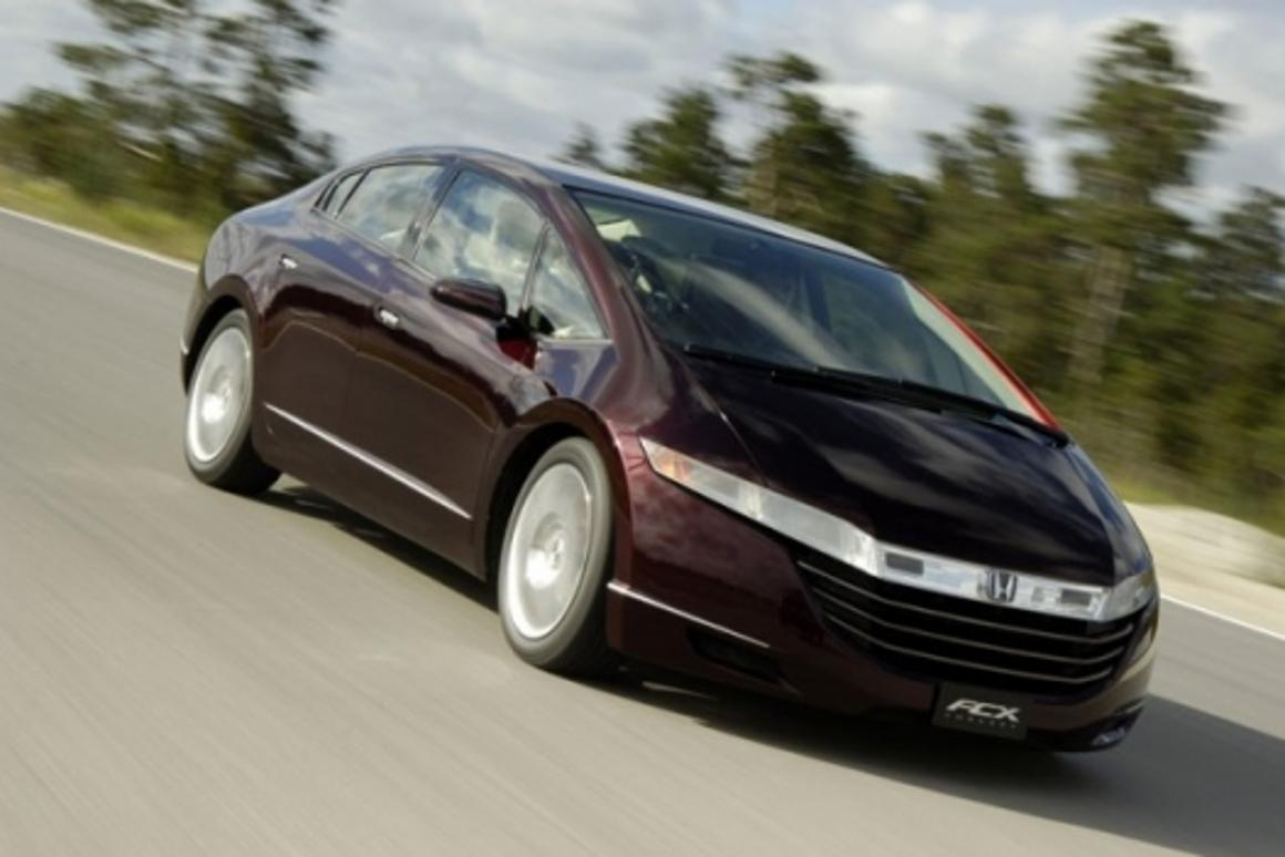 Honda's FCX fuel cell vehicle