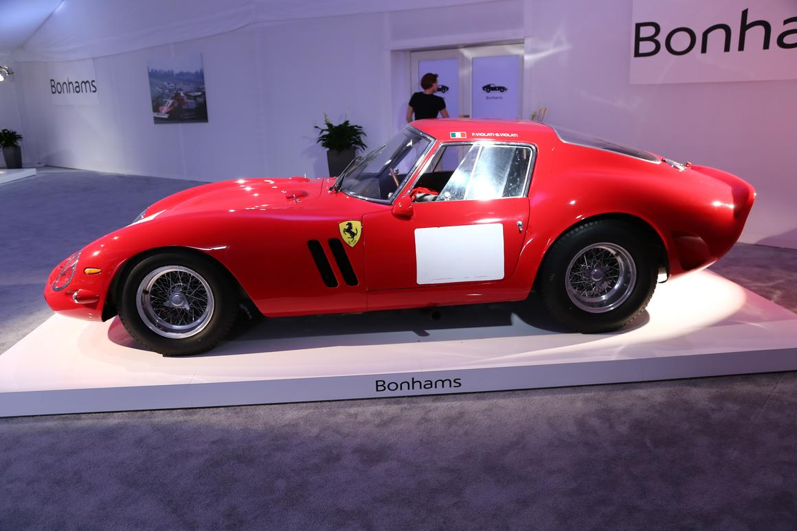 Two years ago, a Ferrari 250 GTO sold privately for US$32 million becoming the most expensive car ever. Then a 1962 GTO sold for US$35 million, then last year a 1963 GTO sold for US$52 million, so there was little doubt that when the GTO crossed the Bonhams auction block on August 14, (VIDEO HERE) the world auction record would be comprehensively gazzumped. It was!