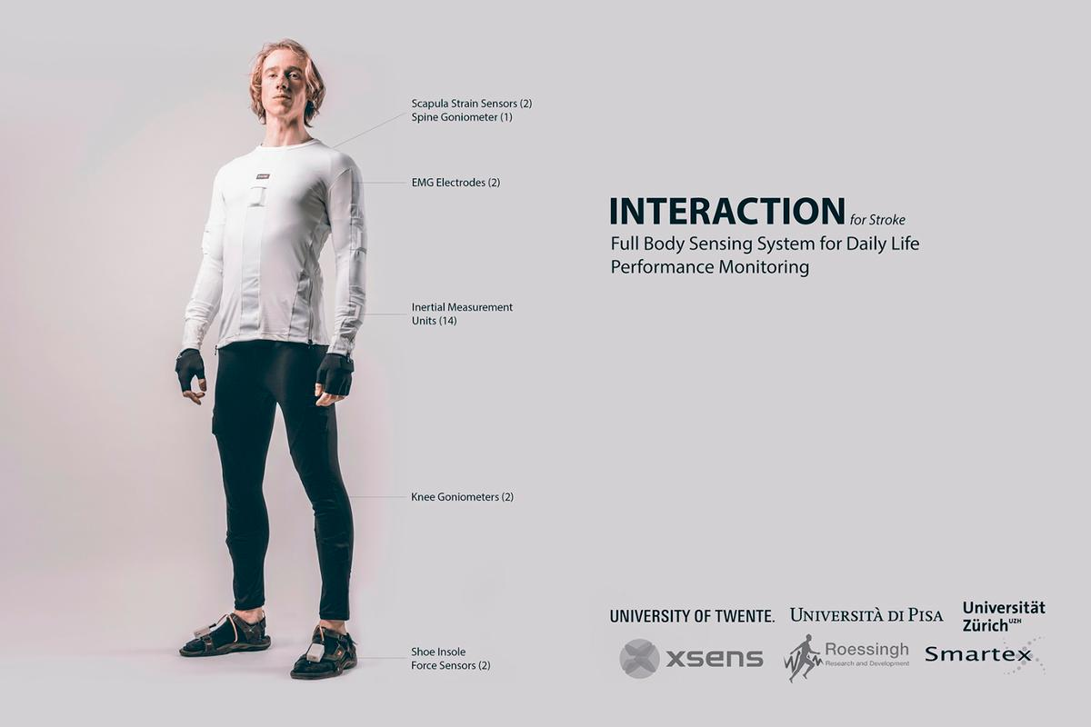 The stroke patient-monitoring Interaction suit