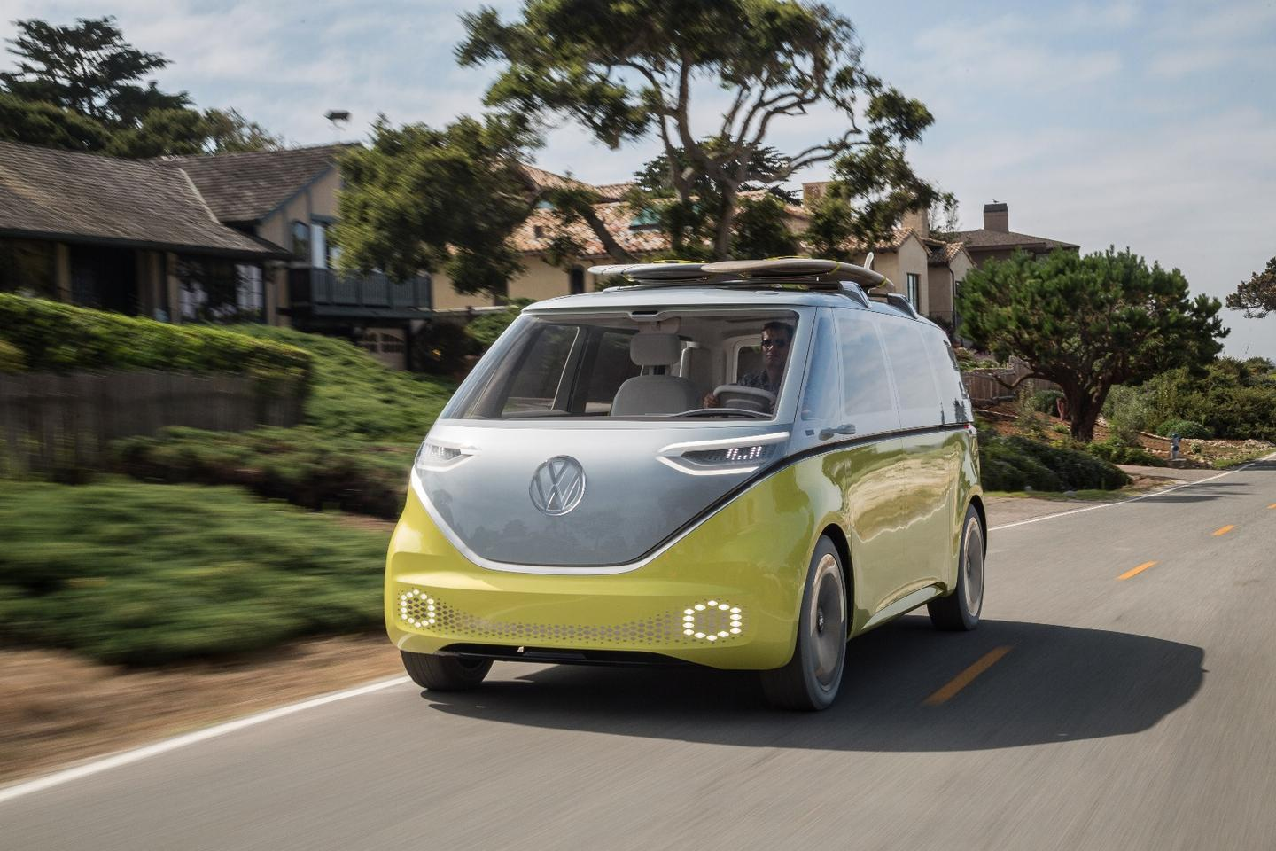 Volkswagen hinted at some degree of self-driving capability when announcing a production version of its I.D. Buzz electric Kombi van two years ago