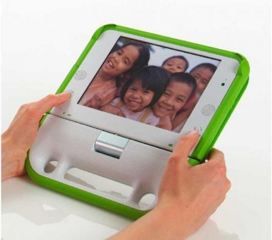 The $100 Laptop (One Laptop per Child).