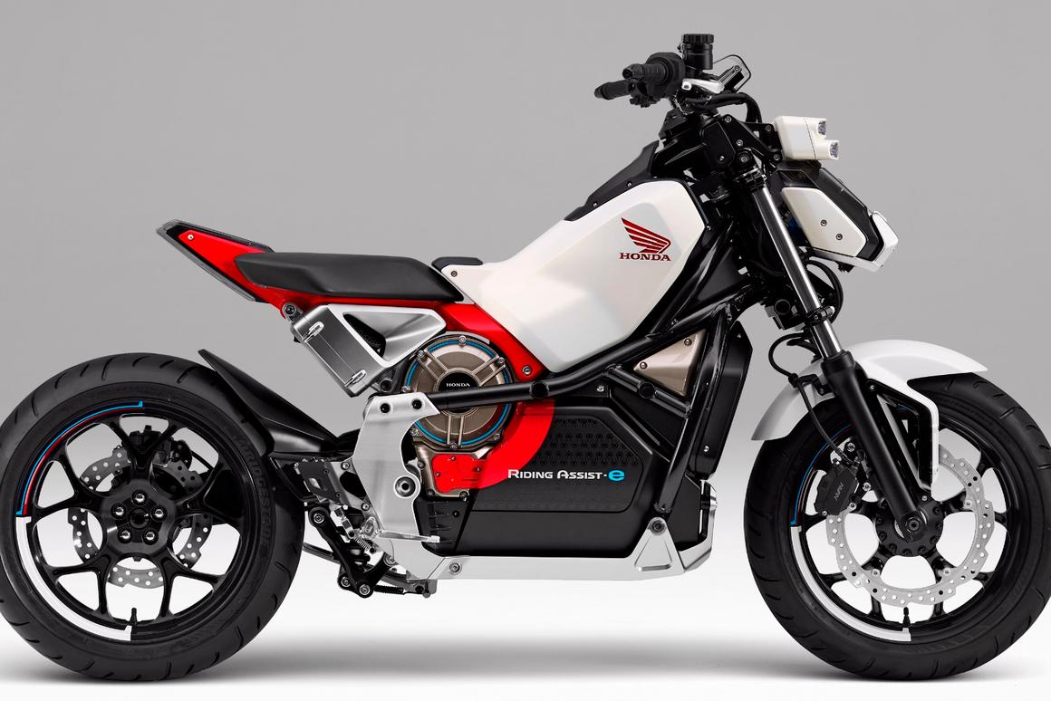 The Riding Assist-e is the latest step in Honda's quest to make motorcycling more accessible to everyone.