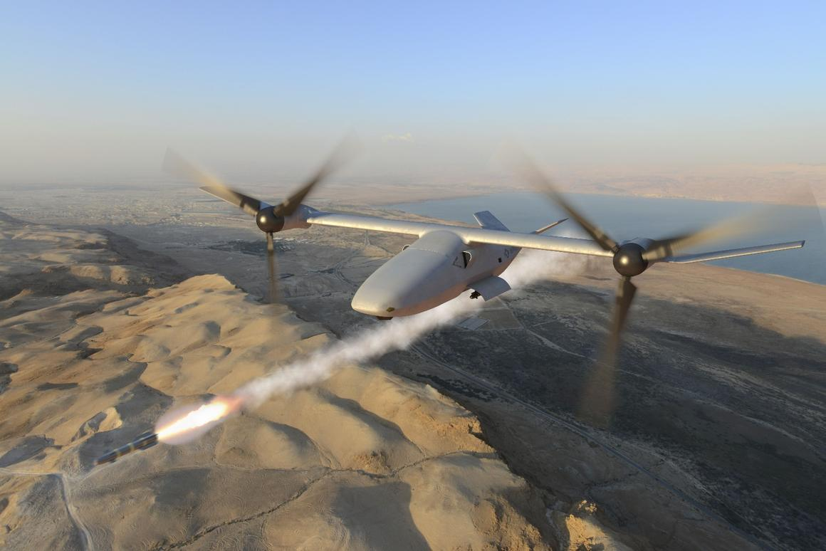 The V-247 can be armed with a variety of munitions