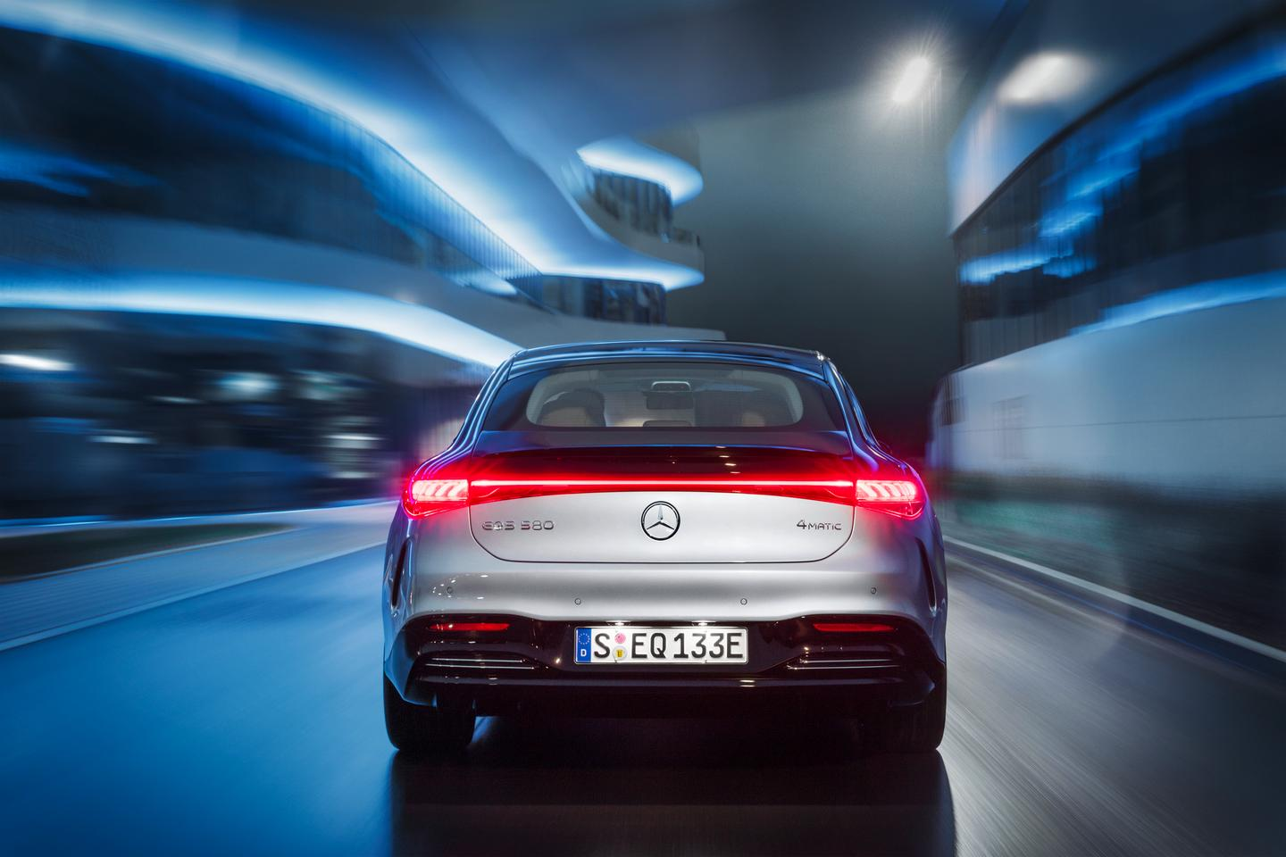 Mercedes debuts the highly anticipated EQS flagship electric luxury sedan