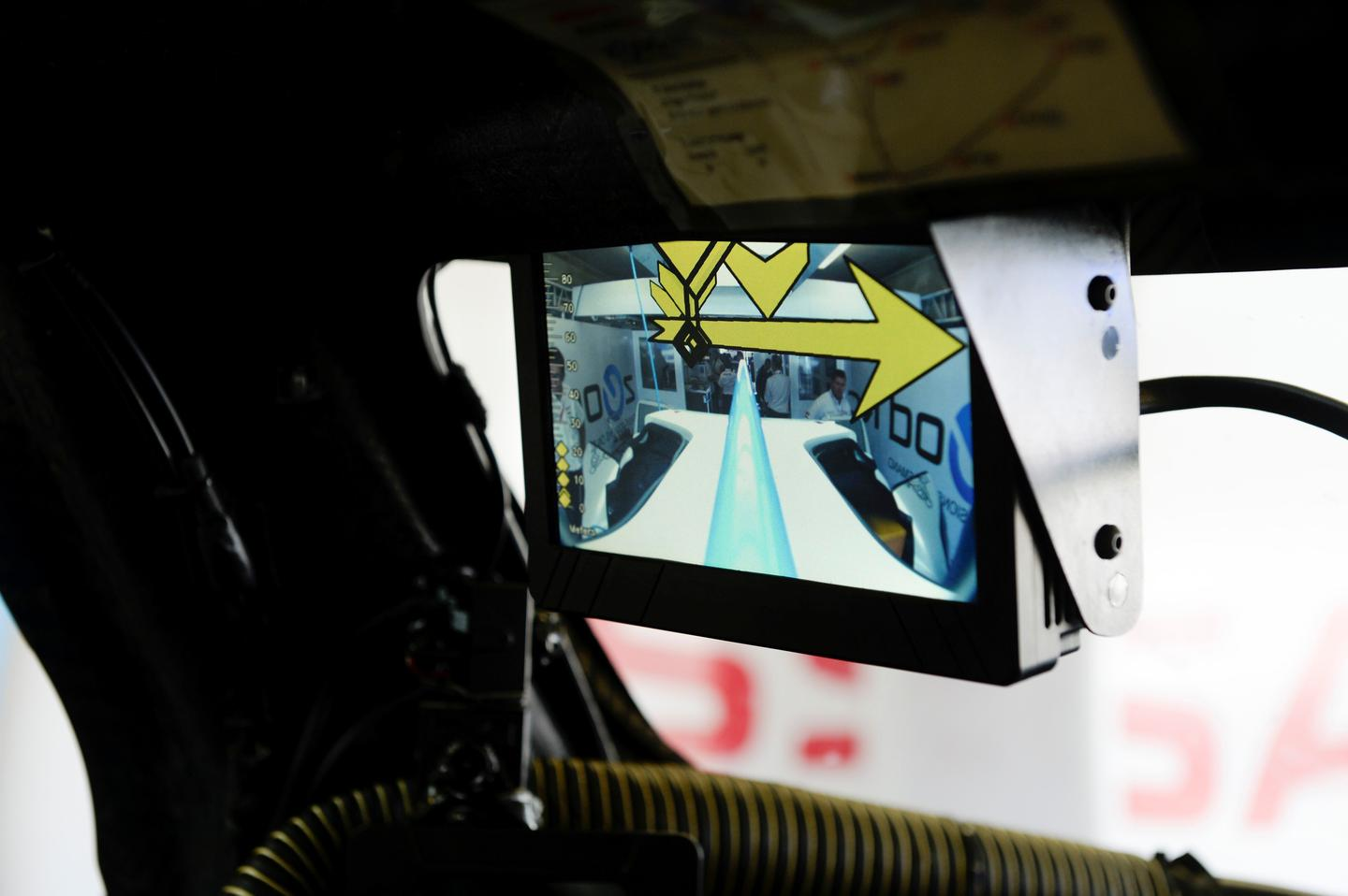 Nissan's ZEOD Racer features a rear facing camera instead of traditional mirrors