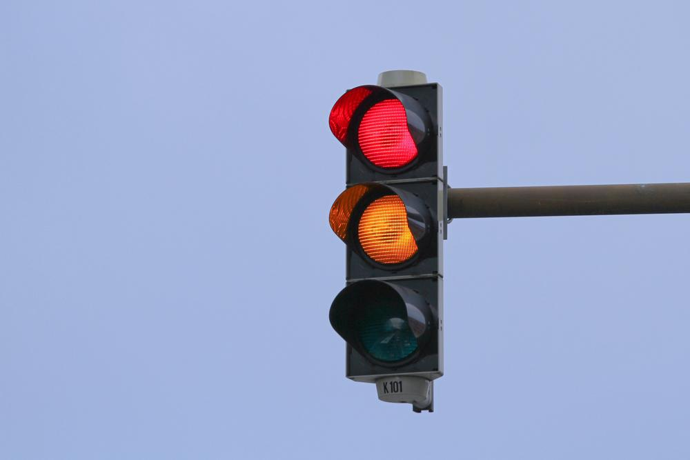 The proposed Virtual Traffic Lights system could make lights like these obsolete (Photo: Shutterstock)