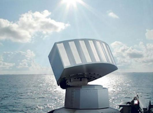 The Mass (Multi-Ammuniton Softkillsystem) launcher system for decoy operations in all relevant wavelength spectrums is designed to protect naval vessels against attack by sensor-guided weapons.