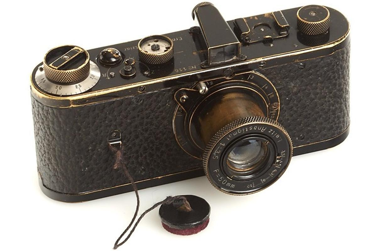 The world's most expensive camera - the Leica 0-Series (Photo: WestLicht Photographica)