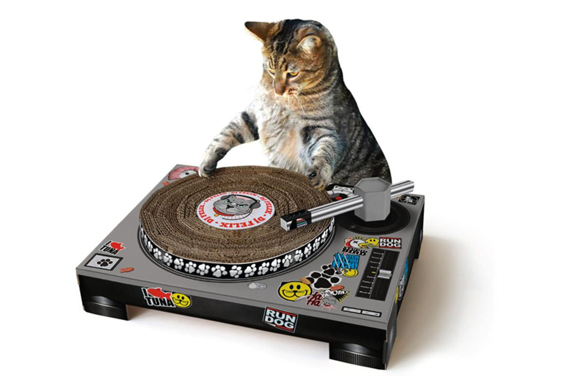 DJ Scratching Deck