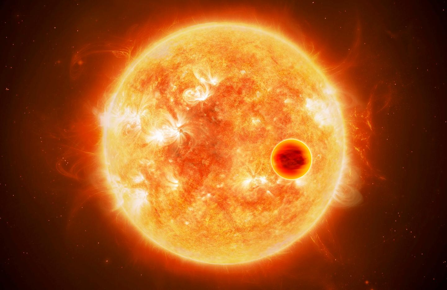 Scientists working on the Ariel mission will look to use a method called transit spectroscopy to learn about the atmospheres of exoplanets