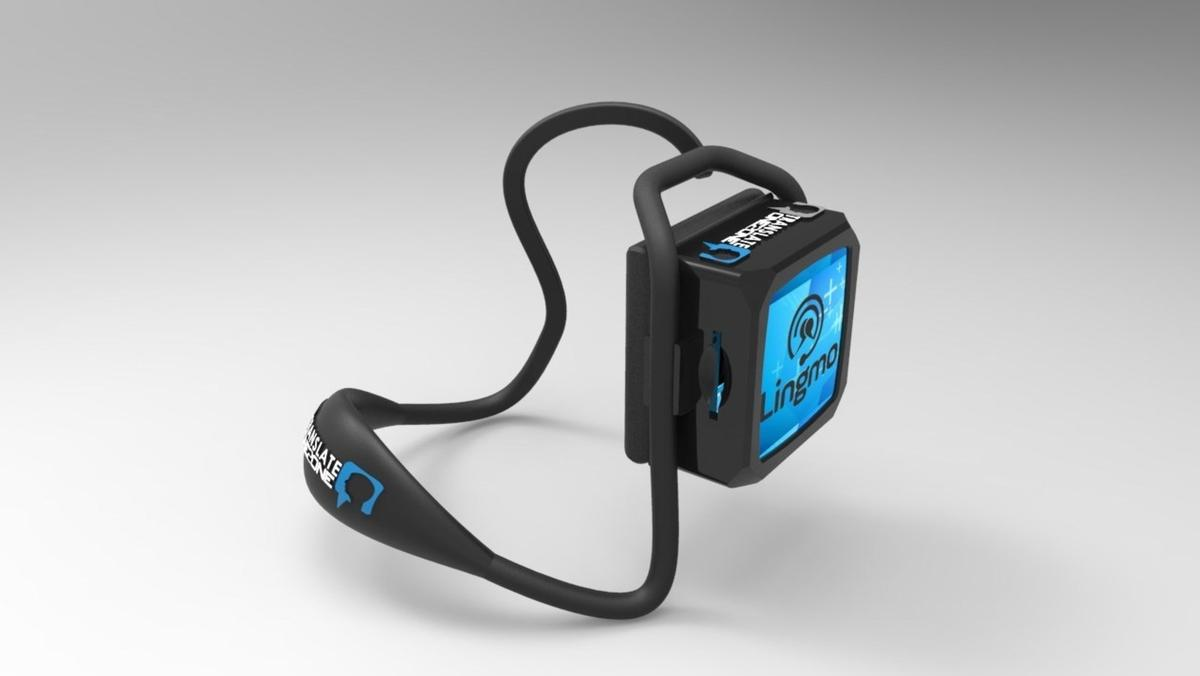 The Translate One2Oneearpiece can translate eight languages without Bluetooth or Wi-Fi connectivity