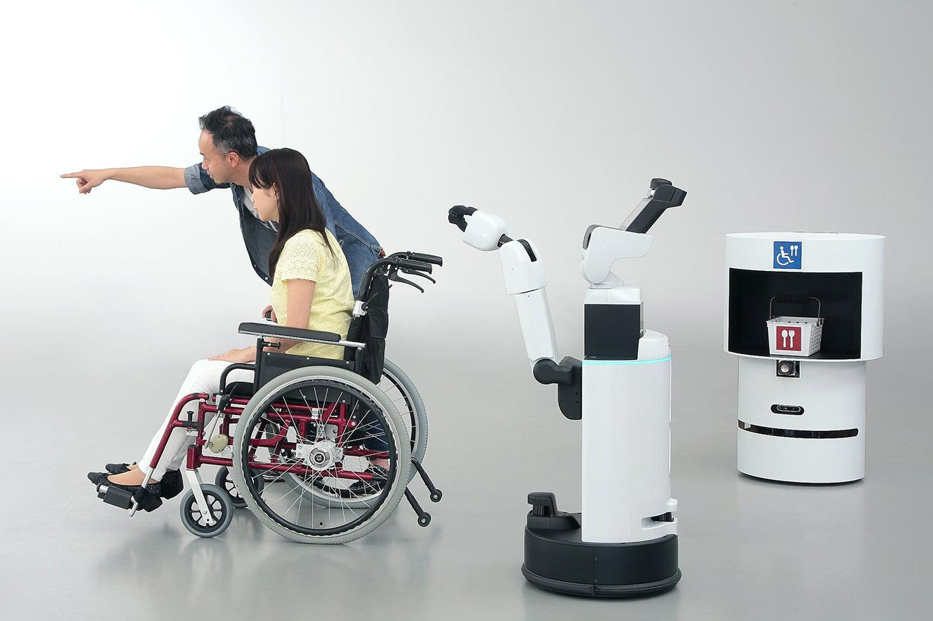 Toyota's Human Support Robots and Delivery Assist Robots are the first robot helpers to be confirmed for the 2020 Tokyo Olympic Games