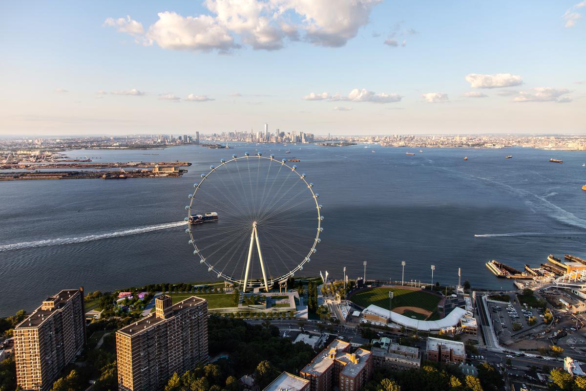 Preliminary work has begun on Staten Island's New York Wheel (Image: New York Wheel)