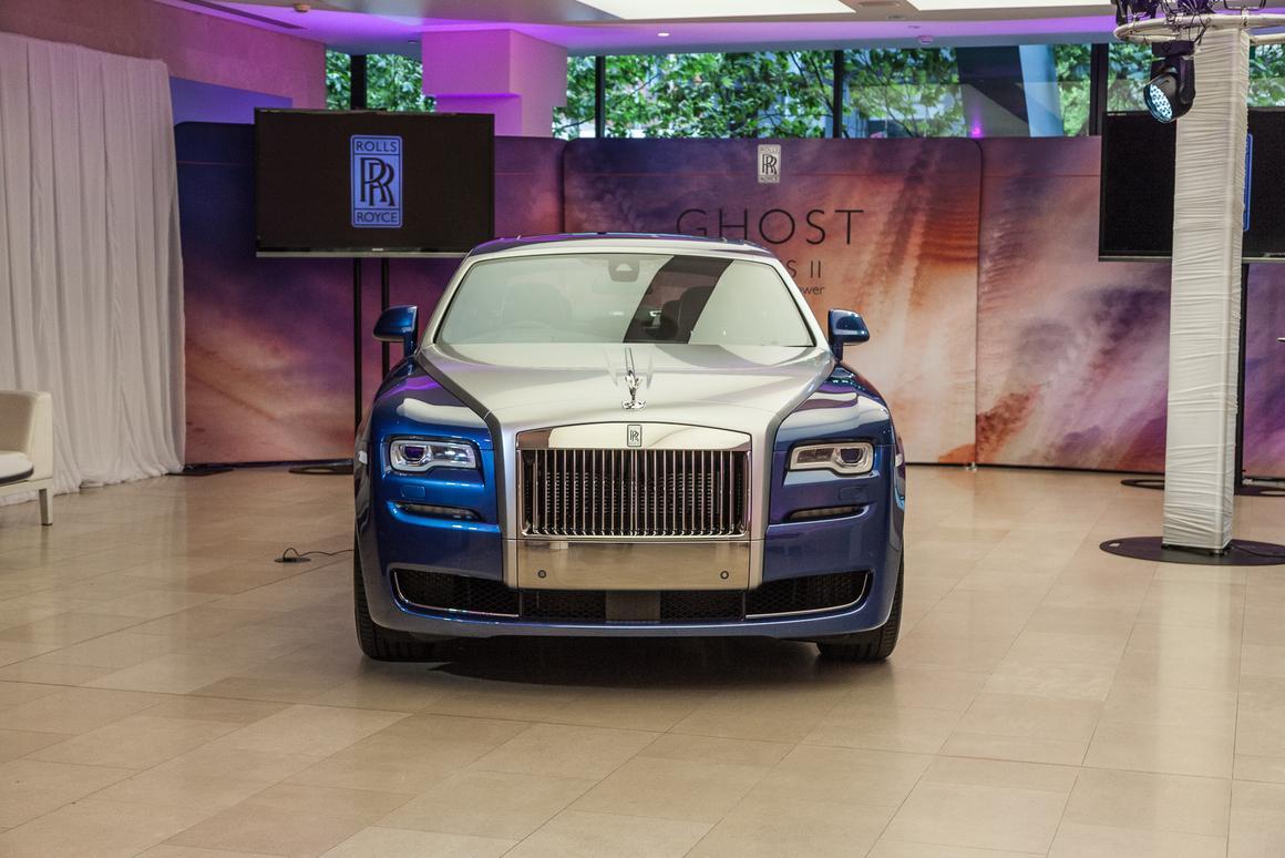Rolls Royce Ghost Series II (Photo: Loz Blain/Gizmag.com)