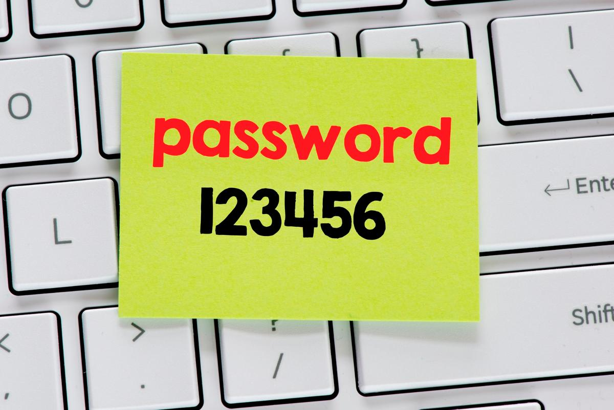"""123456"" topped the list of most popular passwords for the fifth year running"