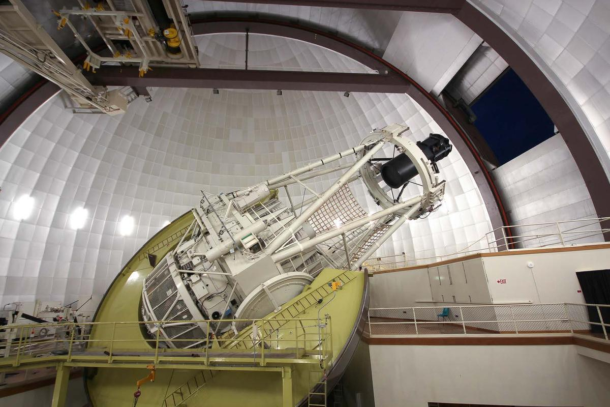 The Anglo-Australian Telescope in Siding Spring Observatory is home to a new planet-hunting instrument