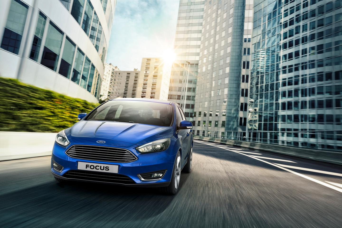 The 2015 Ford Focus reflects the company's global design language