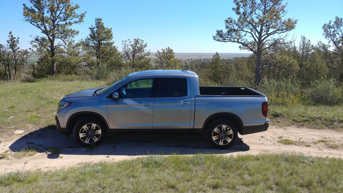 A traditional pickup truck has a body-on-frame construction and solid rear axle –with the Ridgeline, however, the design is based on unibody construction and four-wheel, independent suspension
