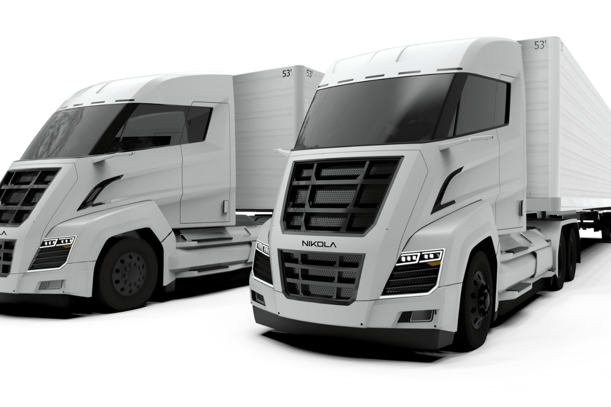 Nikola Motor Company has revealed that battery-electric versions of its Two (pictured) and Tre hydrogen fuel cell trucks will go into production