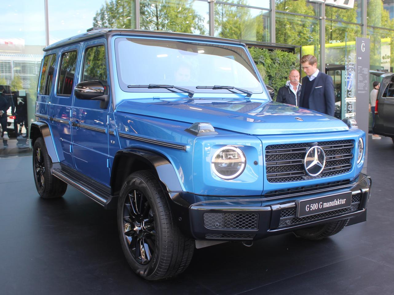 Mercedes-Benz highlights the G-Class individualization program, G manufaktur
