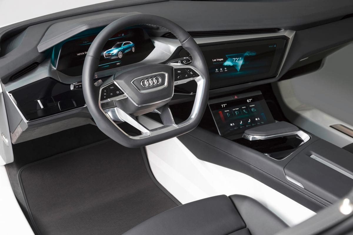 Audi shows an AMOLED-based concept interior at CES 2016